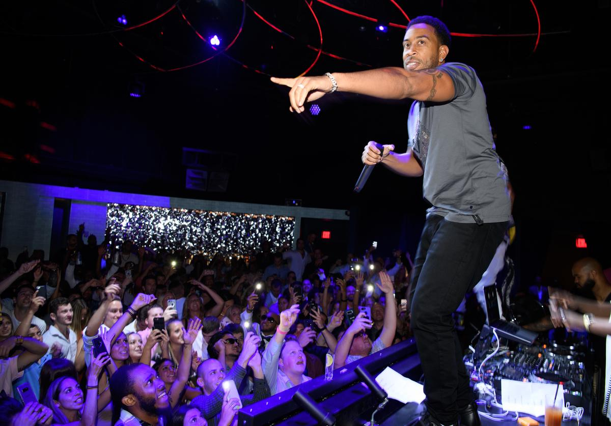 Ludacris performs at the DAER Nightclub Hotel & Casino Atlantic City Grand Opening Weekend at DAER Nightclub at Hard Rock Hotel & Casino Atlantic City on June 30, 2018 in Atlantic City, New Jersey