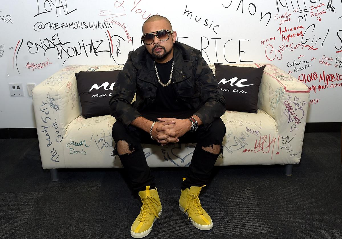 Sean Paul visits Music Choice at Music Choice on March 21, 2018 in New York City
