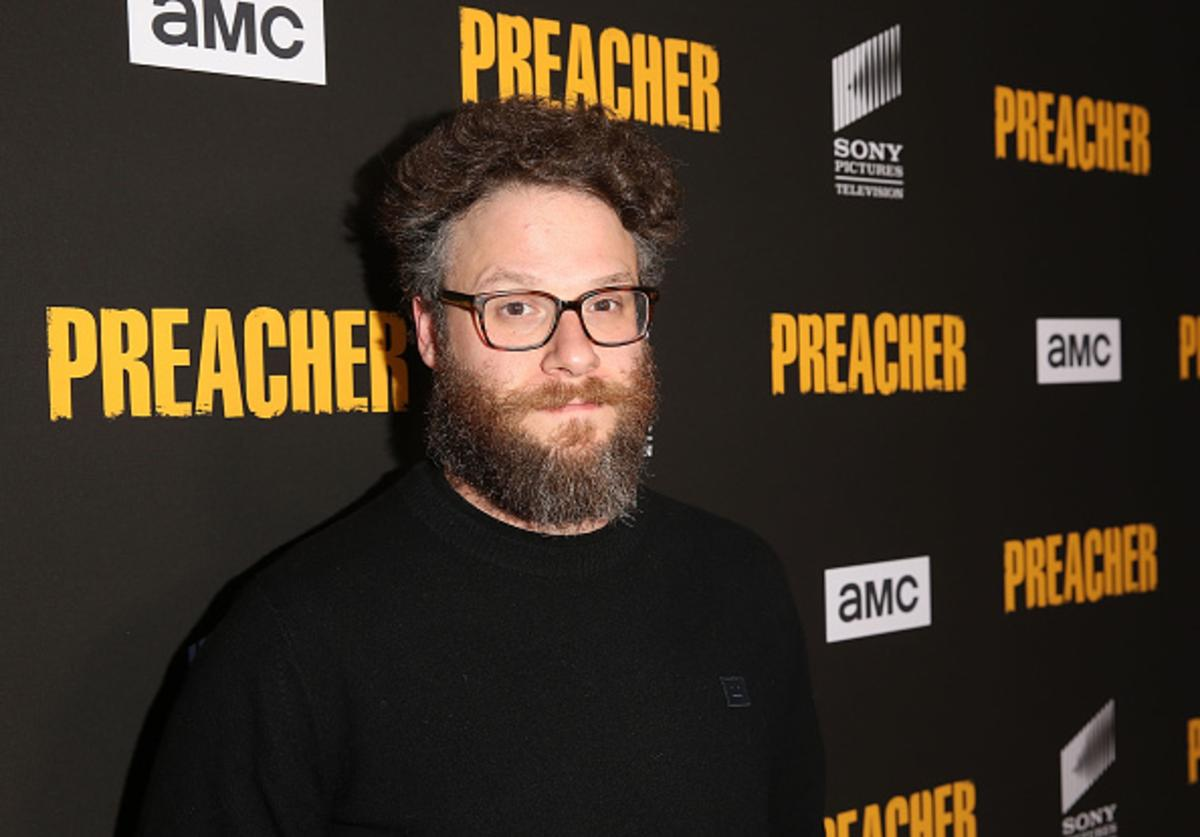 Executive producer Seth Rogen attends the premiere of AMC's 'Preacher' Season 3 on June 14, 2018 in Los Angeles, California.