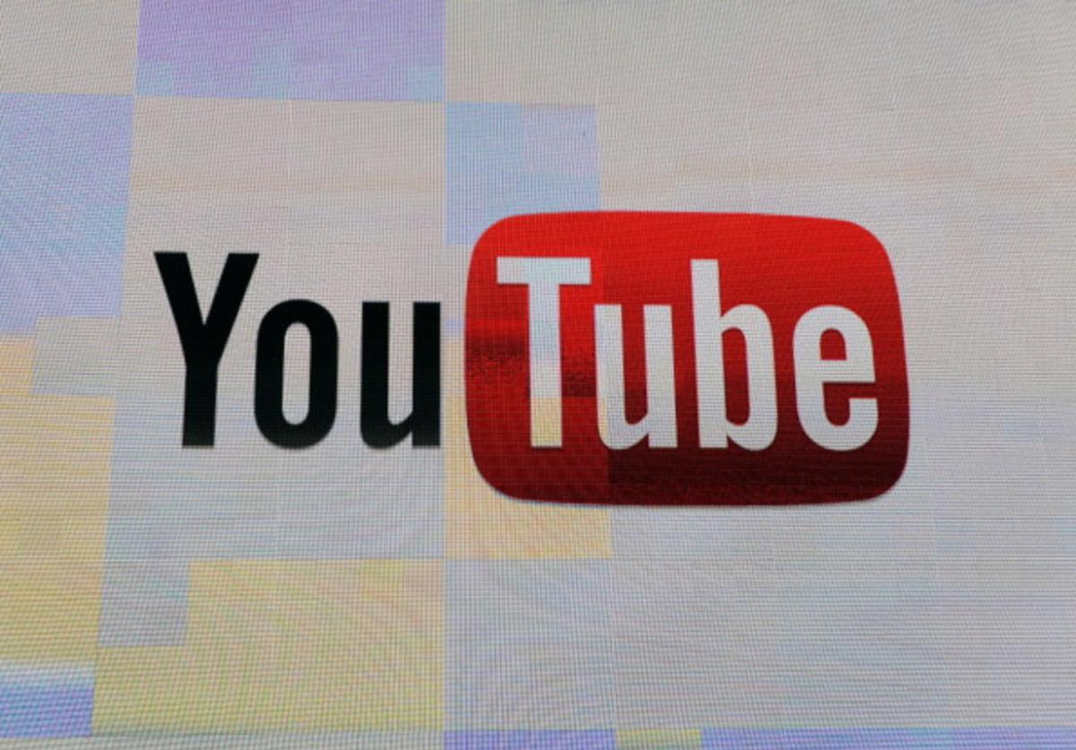 The YouTube logo appears on screen before a keynote address by Vice President of Global Content Partnerships at YouTube Robert Kyncl at the 2012 International Consumer Electronics Show at the Las Vegas Hotel & Casino January 12, 2012 in Las Vegas, Nevada. CES, the world's largest annual consumer technology trade show, runs through January 13 and features more than 3,100 exhibitors showing off their latest products and services to about 140,000 attendees