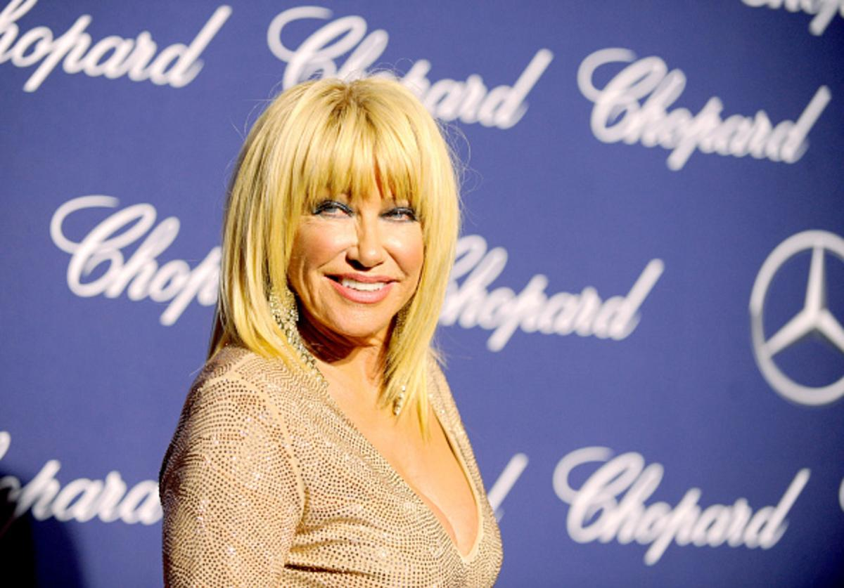 Actress Suzanne Somers attends the 28th Annual Palm Springs International Film Festival Film Awards Gala at the Palm Springs Convention Center on January 2, 2017 in Palm Springs, California.