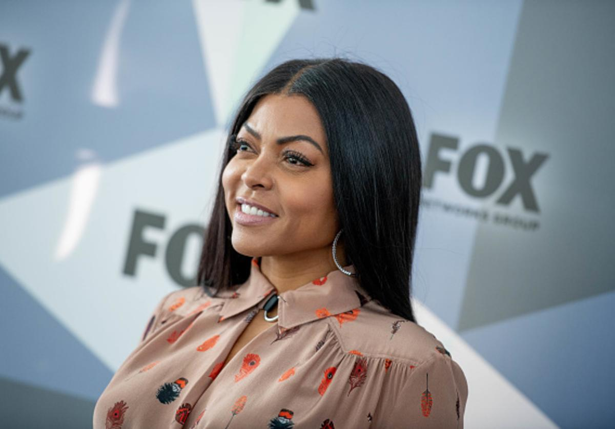 Taraji P. Henson attends the 2018 Fox Network Upfront at Wollman Rink, Central Park on May 14, 2018 in New York City