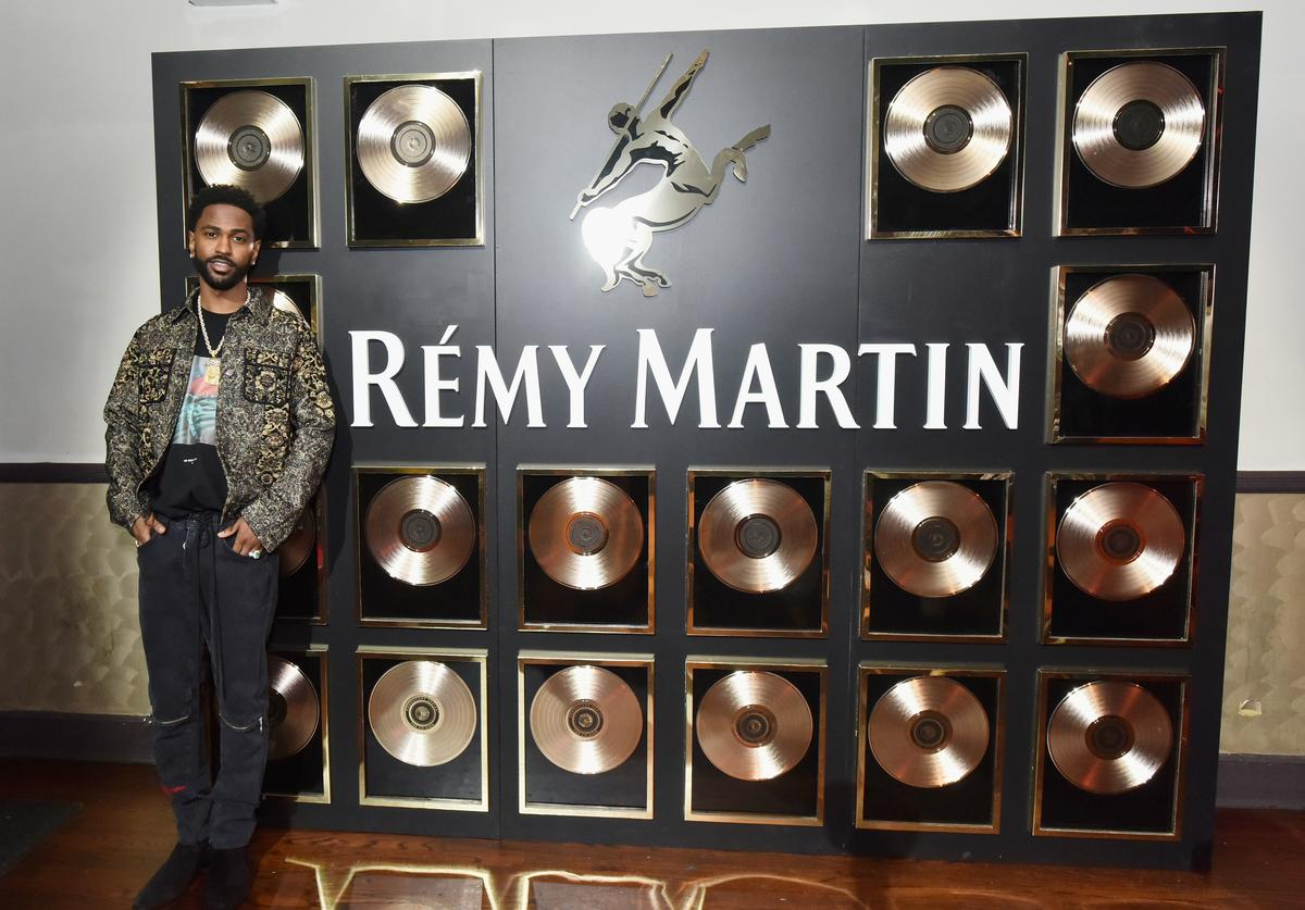 Big Sean attends as Remy Martin Kicks Off Producers Series Season 5 with Big Sean & Mustard in New York City at The Bowery Ballroom on June 28, 2018 in New York City