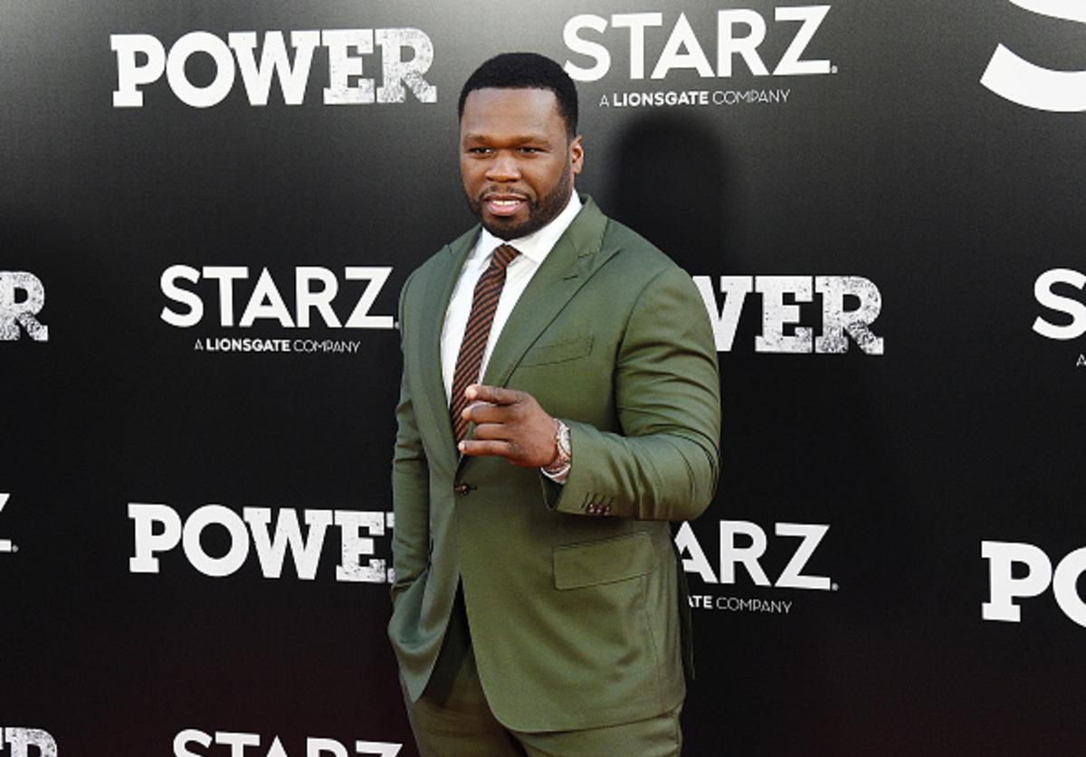 Curtis '50 Cent' Jackson attends the 'POWER' Season 5 Premiere at Radio City Music Hall on June 28, 2018 in New York City.