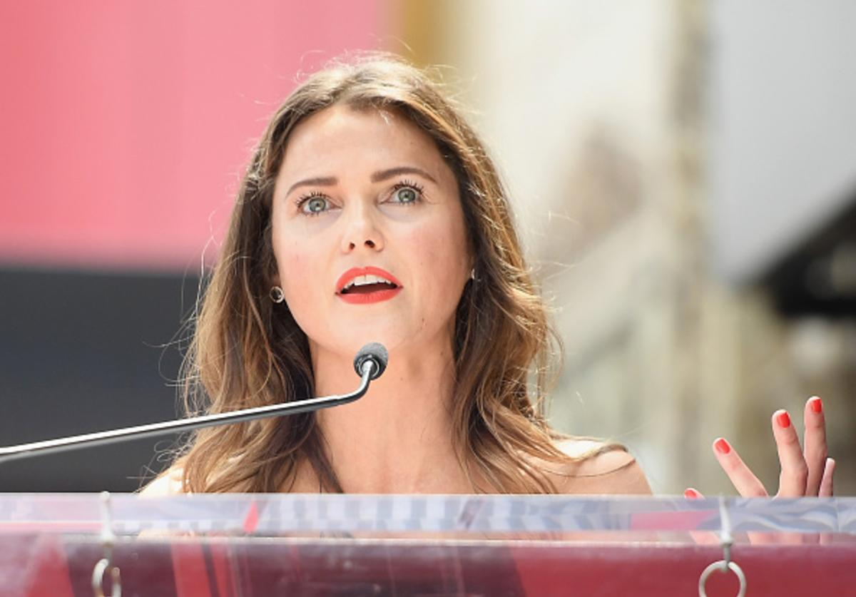 Actor Keri Russell is honored with Star on The Hollywood Walk of Fame on May 30, 2017 in Hollywood, California.