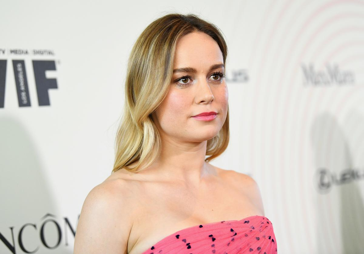 Brie Larson attends the Women In Film 2018 Crystal + Lucy Awards presented by Max Mara, Lancôme and Lexus at The Beverly Hilton Hotel on June 13, 2018 in Beverly Hills, California.