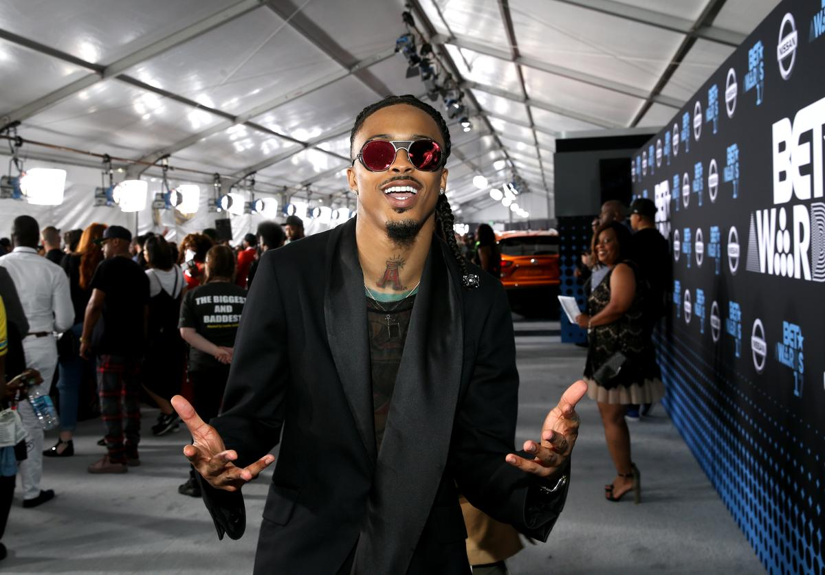 August Alsina at the 2017 BET Awards at Staples Center on June 25, 2017 in Los Angeles, California