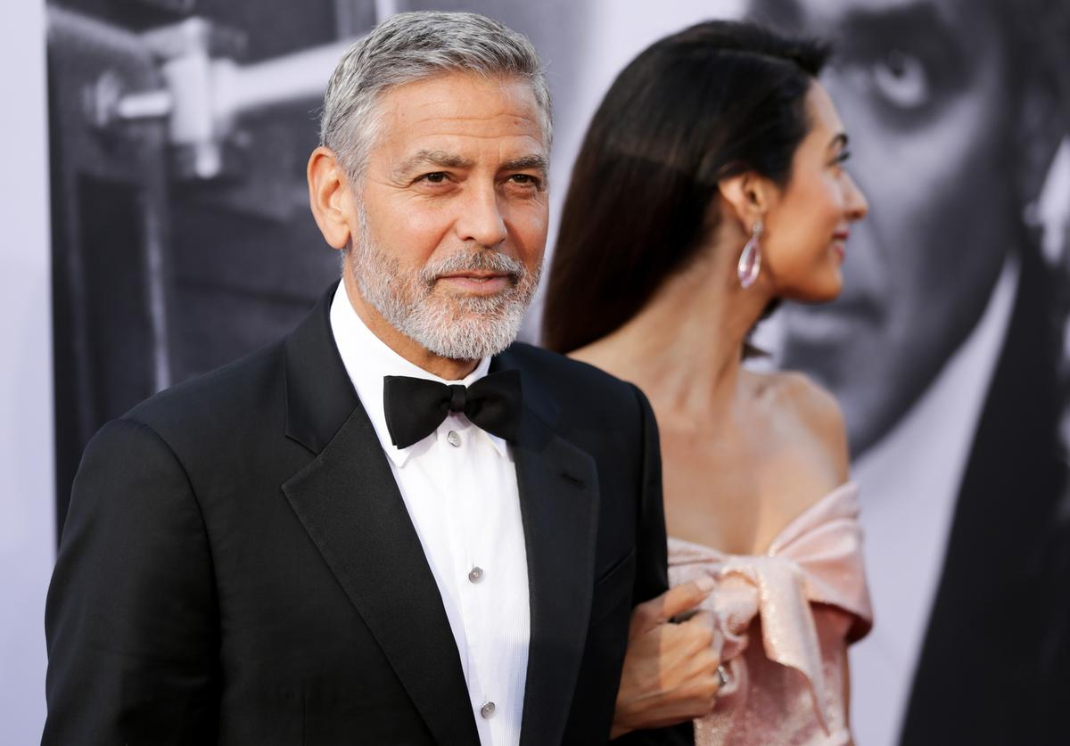 Honoree George Clooney (L) and Amal Clooney attend the American Film Institute's 46th Life Achievement Award Gala Tribute to George Clooney at Dolby Theatre on June 7, 2018 in Hollywood, California.