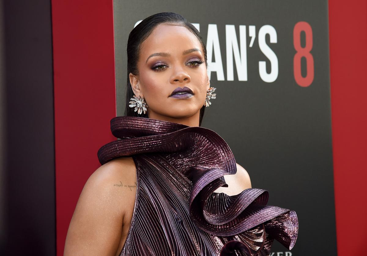 Rihanna attends the 'Ocean's 8' World Premiere at Alice Tully Hall on June 5, 2018 in New York City