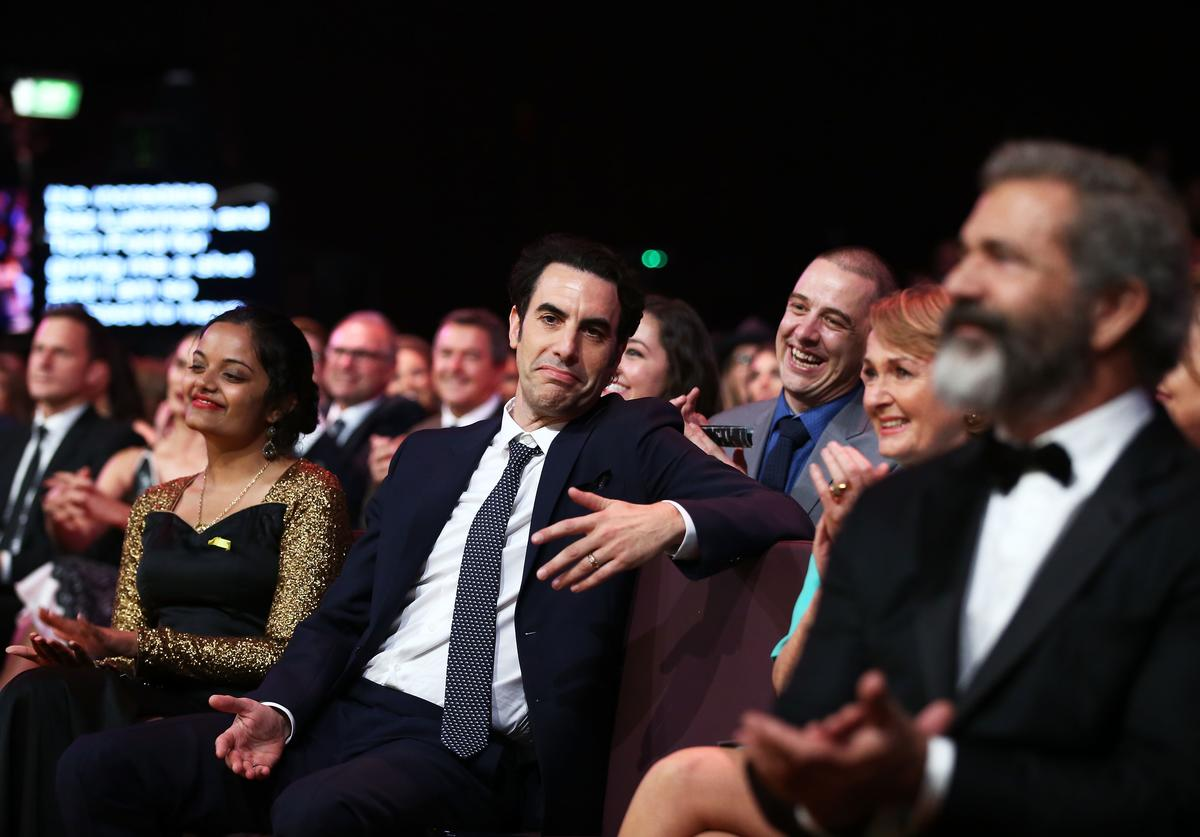 : Sacha Baron Cohen during the 6th AACTA Awards Presented by Foxtel at The Star on December 7, 2016 in Sydney, Australia.