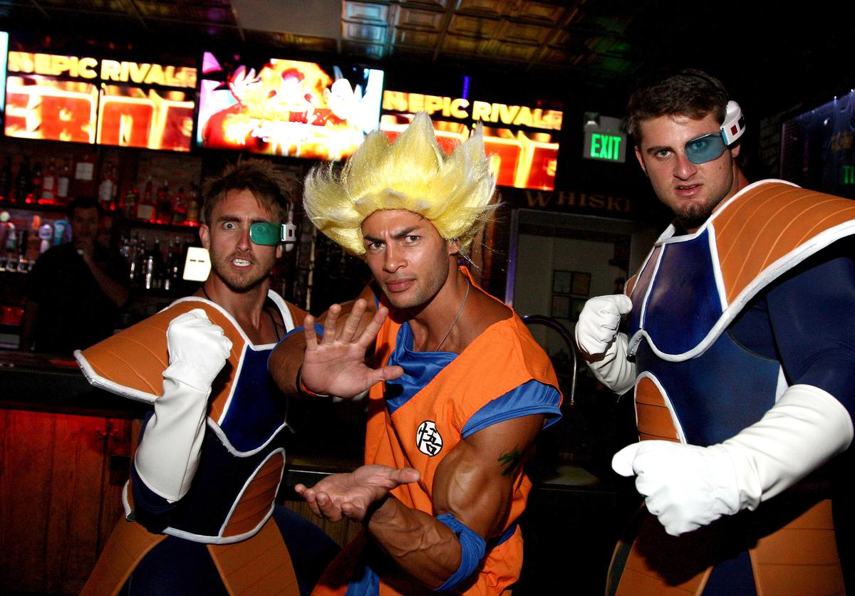 Guests attend the Dragon Ball Z: Resurrection 'F' San Diego Comic Con opening night VIP party held at Whiskey Girl on July 9, 2015 in San Diego, California.