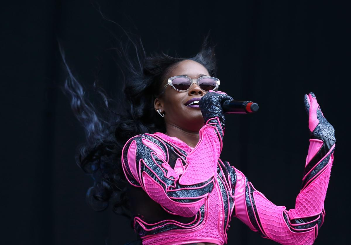 Azealia Banks performs on stage at Wireless Festival at Finsbury Park on July 5, 2014 in London, United Kingdom.