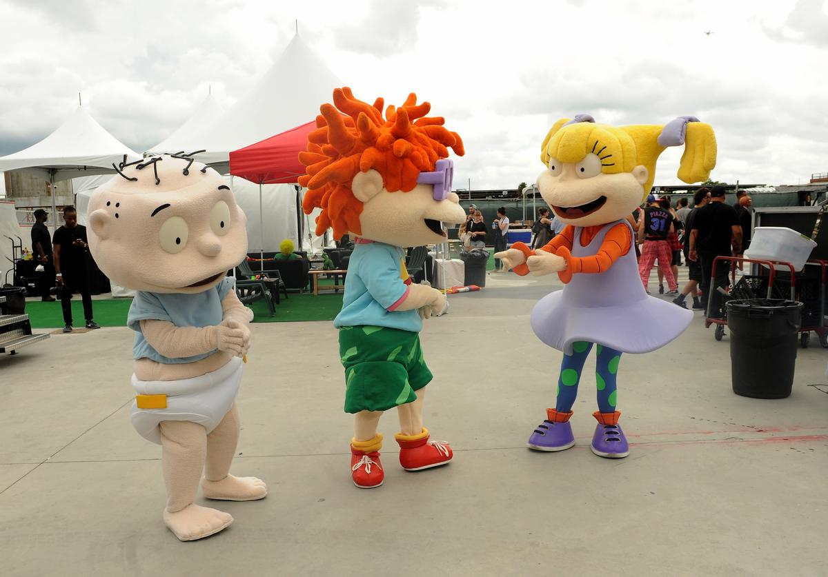 Rugrats attend 90sFEST Pop Culture and Music Festival on September 12, 2015 in Brooklyn, New York.
