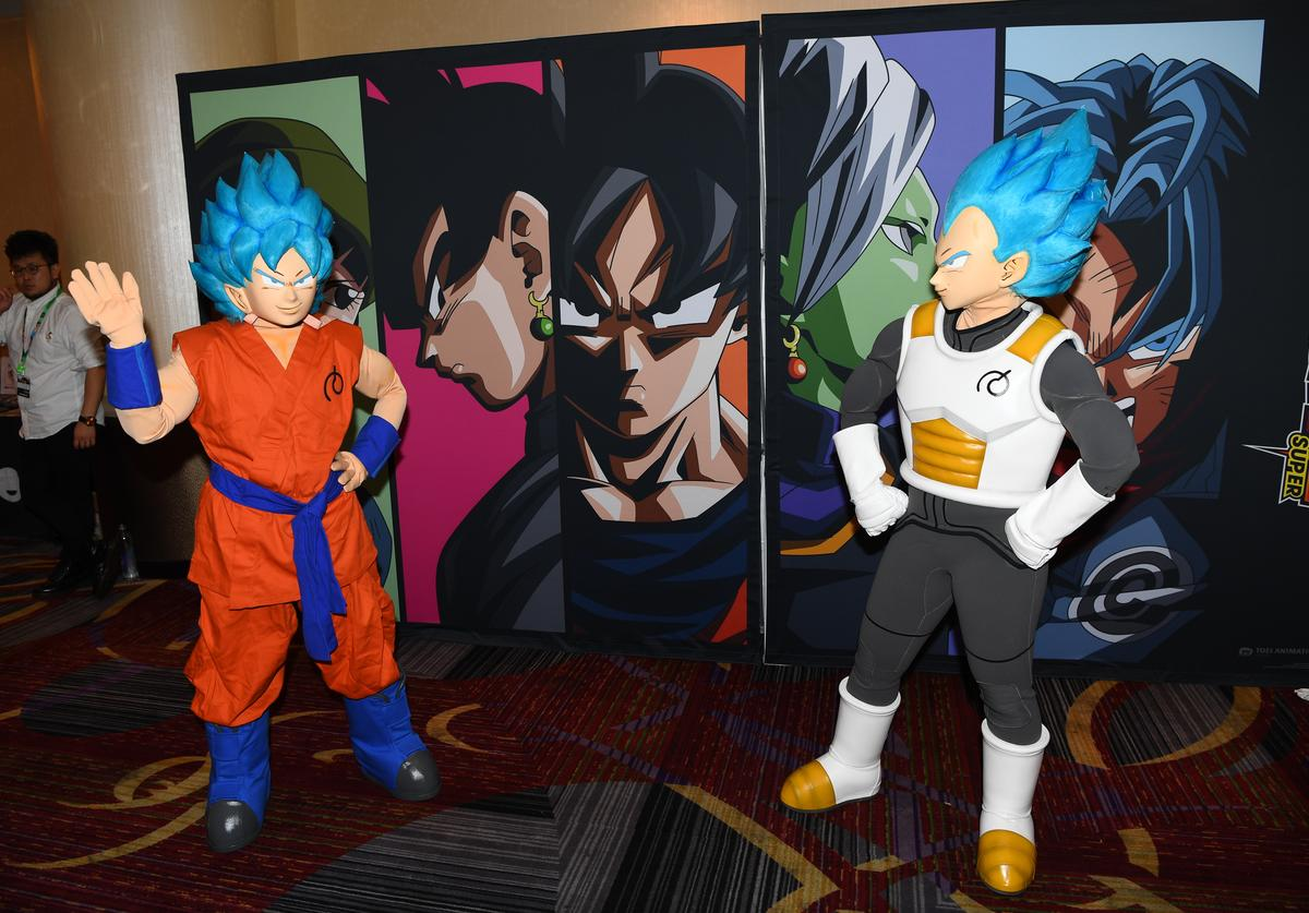 Guests attend the Dragon Ball Super NYCC Fan Meetup on October 7, 2017 in New York City