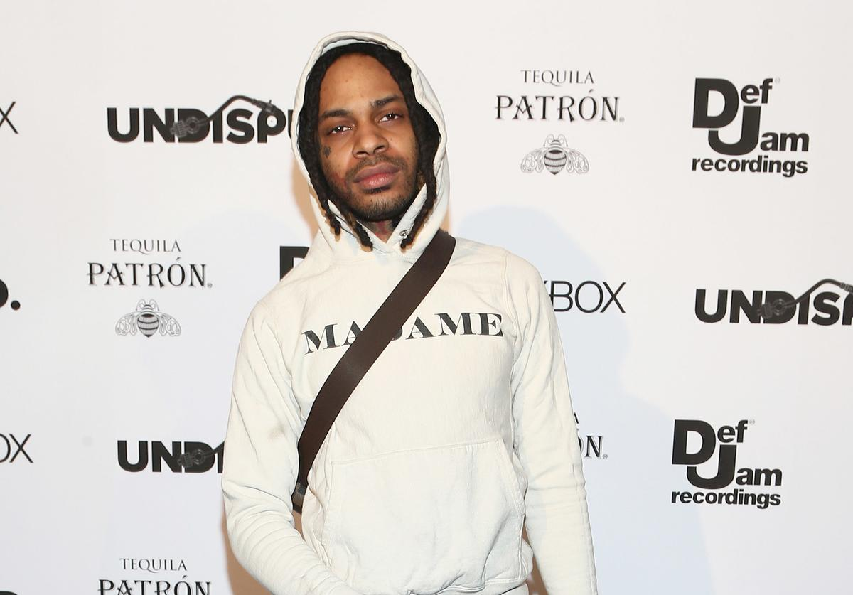 Valee attends the Def Jam Celebrates NBA All Star Weekend at Milk Studios in Hollywood With Performances by 2 Chainz, Fabolous & Jadakiss, Presented by Patron Tequila at Milk Studios on February 16, 2018 in Hollywood, California