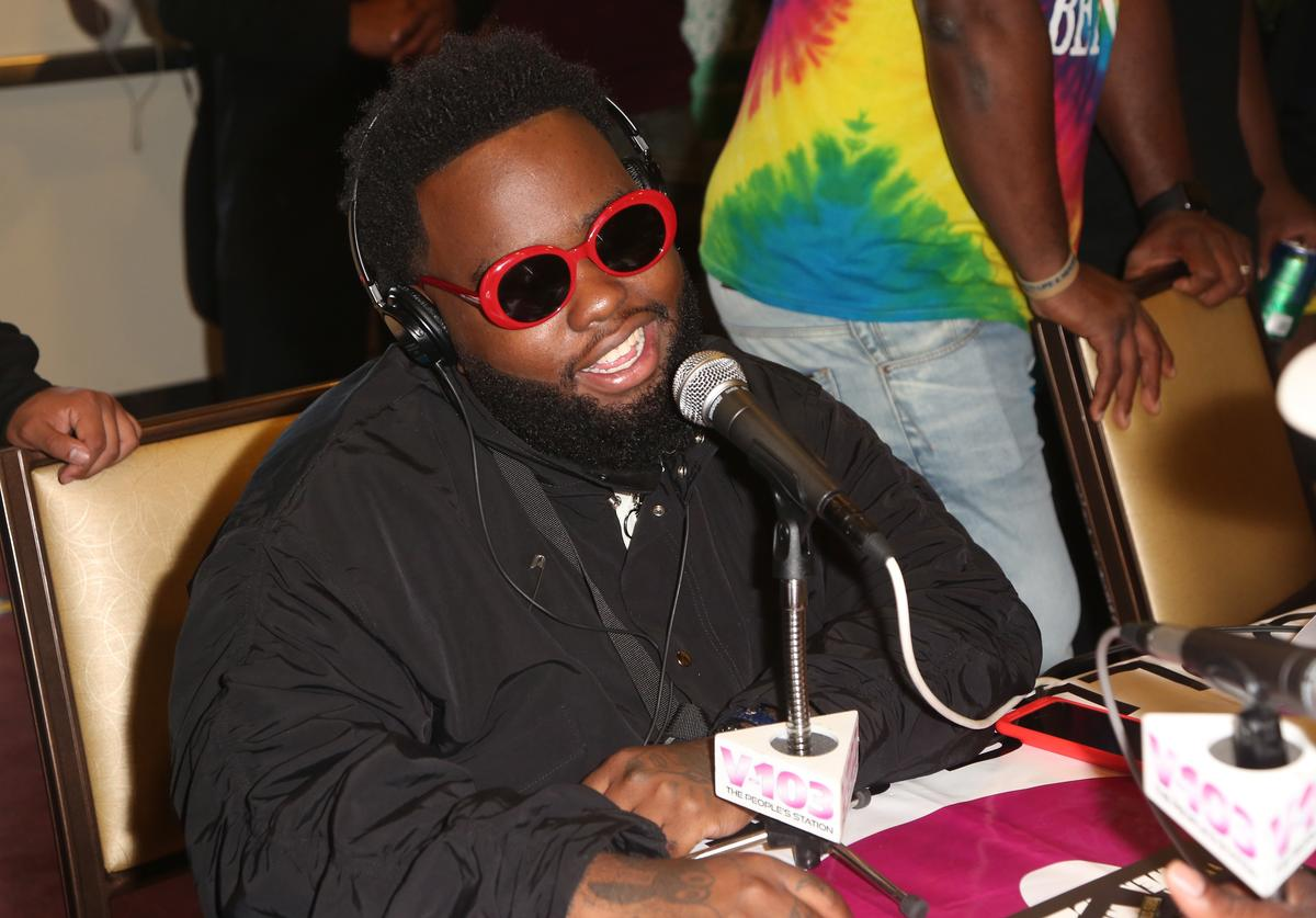 24hrs at day 2 of the Radio Broadcast Center, sponsored by Sprite, during the 2017 BET Awards at Microsoft Square on June 24, 2017 in Los Angeles, California.