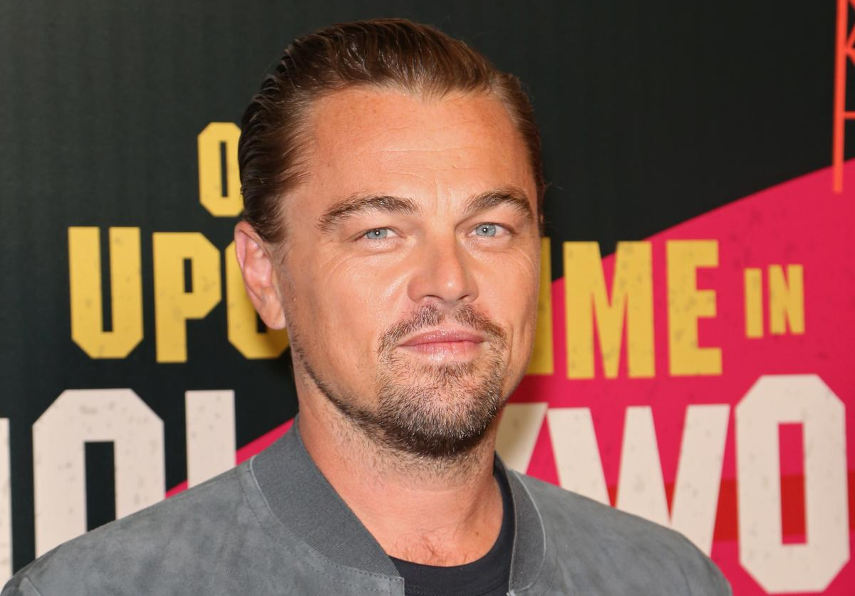 Actor Leonardo DiCaprio attends the CinemaCon 2018 Gala Opening Night Event: Sony Pictures Highlights its 2018 Summer and Beyond Films at The Colosseum at Caesars Palace during CinemaCon, the official convention of the National Association of Theatre Owners,on April 23, 2018 in Las Vegas, Nevada.
