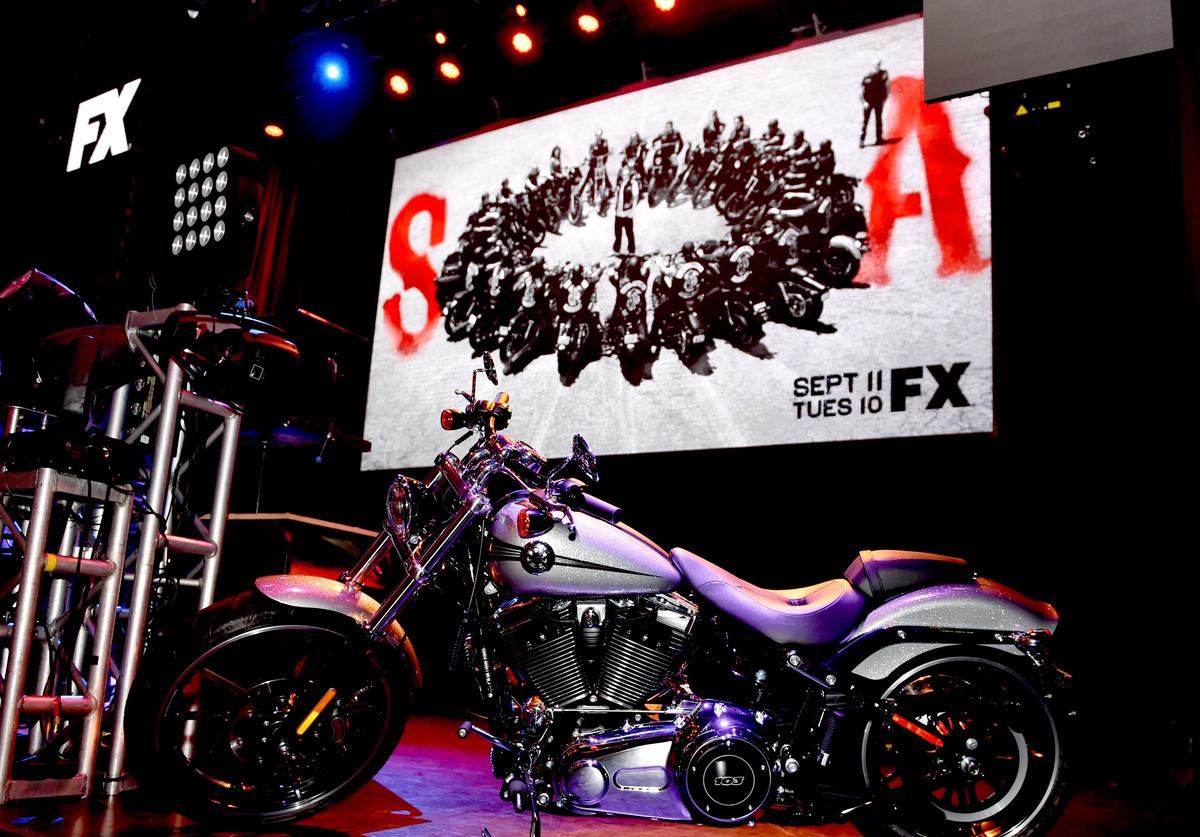 A general view is shown at the after party for the season 7 premiere screening of FX's 'Sons of Anarchy' at the Avalon on September 6, 2014 in Los Angeles, California