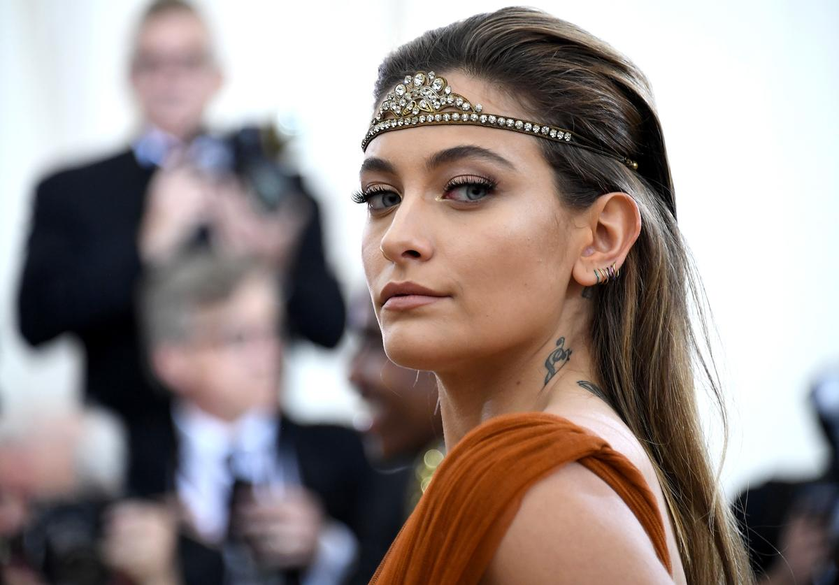 Paris Jackson attends the Heavenly Bodies: Fashion & The Catholic Imagination Costume Institute Gala at The Metropolitan Museum of Art on May 7, 2018 in New York City
