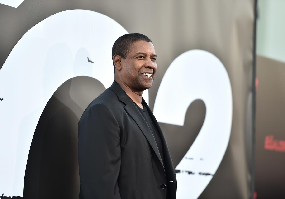 Denzel Washington attends the premiere of Columbia Pictures' 'Equalizer 2' at the TCL Chinese Theatre on July 17, 2018 in Hollywood, California.