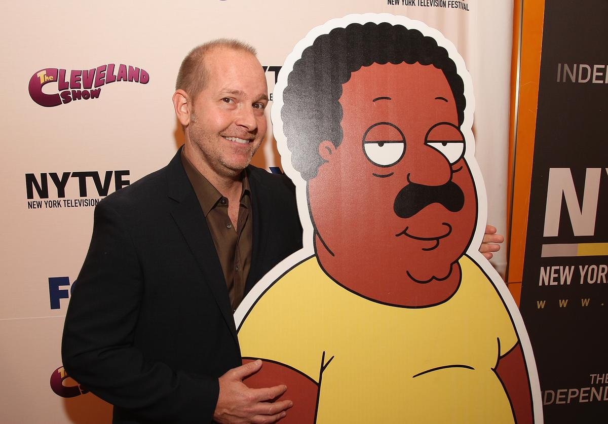 Voice actor Mike Henry attends the 5th annual New York Television Festival premiere of 'The Cleveland Show' at TheTimesCenter on September 24, 2009 in New York City.