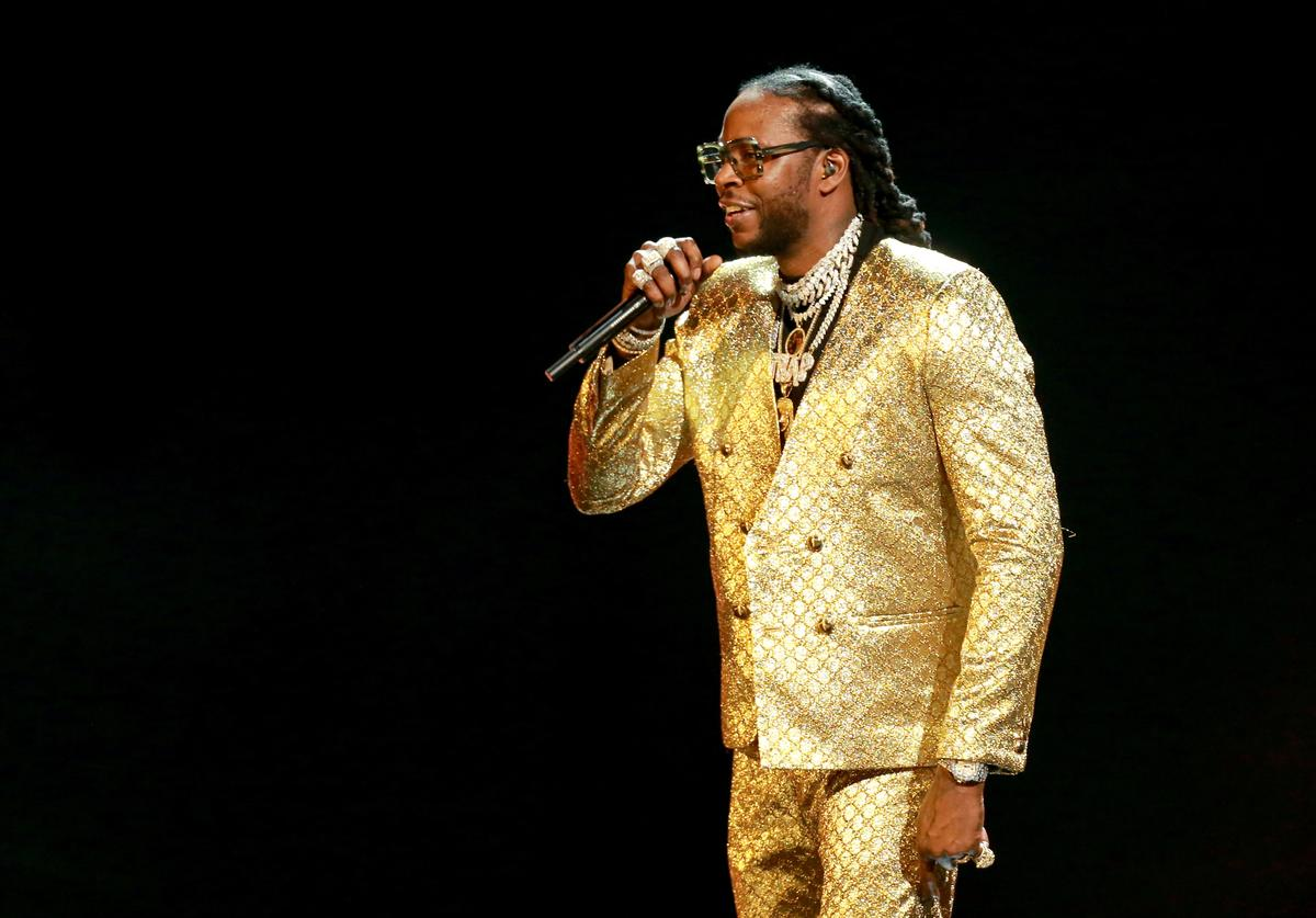 2 Chainz performs onstage at the 2018 BET Awards at Microsoft Theater on June 24, 2018 in Los Angeles, California