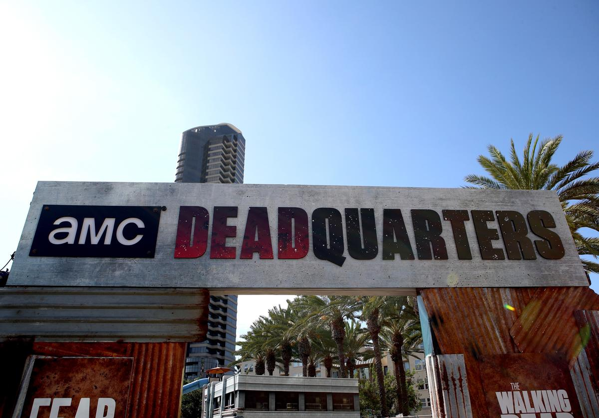 A general view of atmosphere as seen at the 'Fear the Walking Dead' autograph signing with AMC during Comic-Con International 2018 at San Diego Convention Center on July 20, 2018 in San Diego, California.