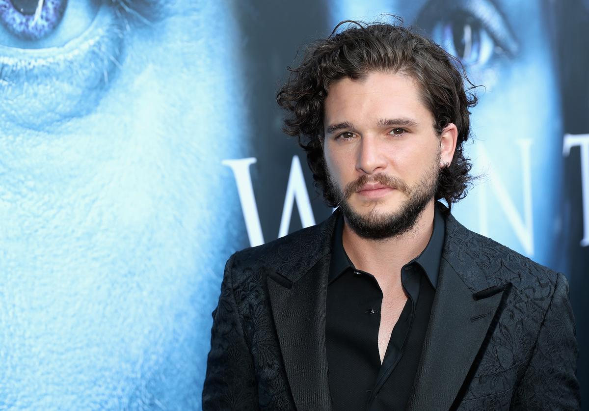 Actor Kit Harington attends the premiere of HBO's 'Game Of Thrones' season 7 at Walt Disney Concert Hall on July 12, 2017 in Los Angeles, California.