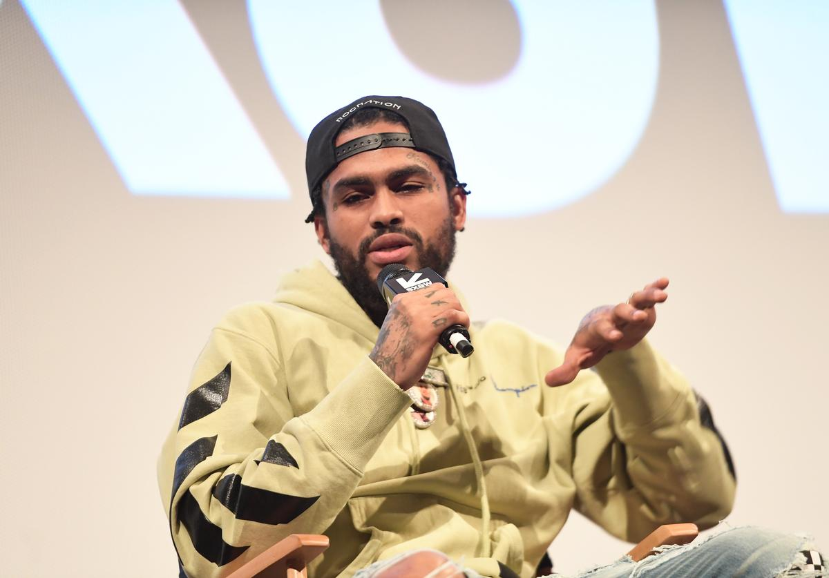 Dave East attends the 'Rapture' Premiere 2018 SXSW Conference and Festivals at Paramount Theatre on March 17, 2018 in Austin, Texas.
