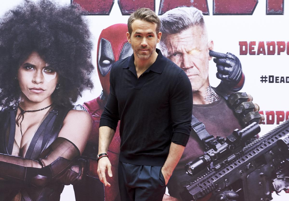 Actor Ryan Reynolds attends 'Deadpool 2' photocall at the Villamagna Hotel on May 7, 2018 in Madrid, Spain