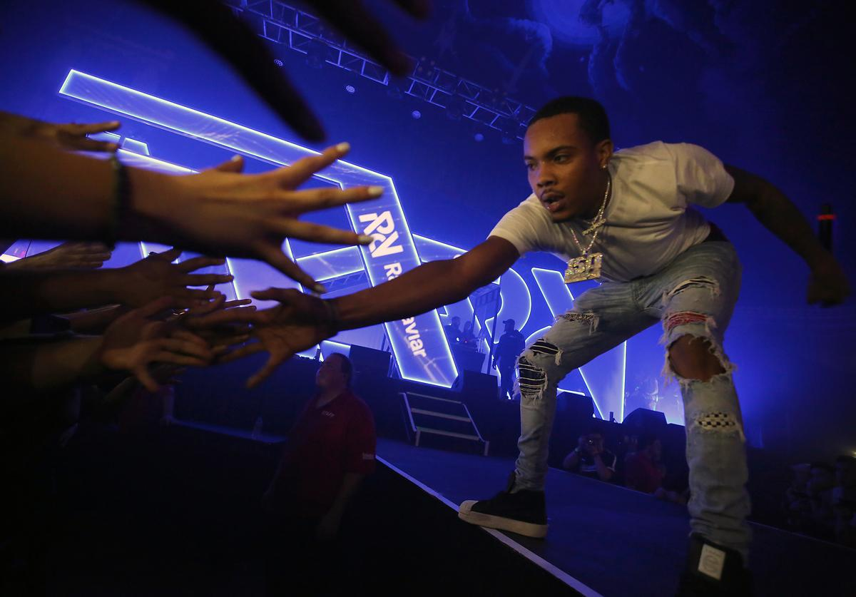 G Herbo performs at Spotify's RapCaviar Live in Chicago at Aragon Ballroom on October 20, 2017 in Chicago, Illinois.