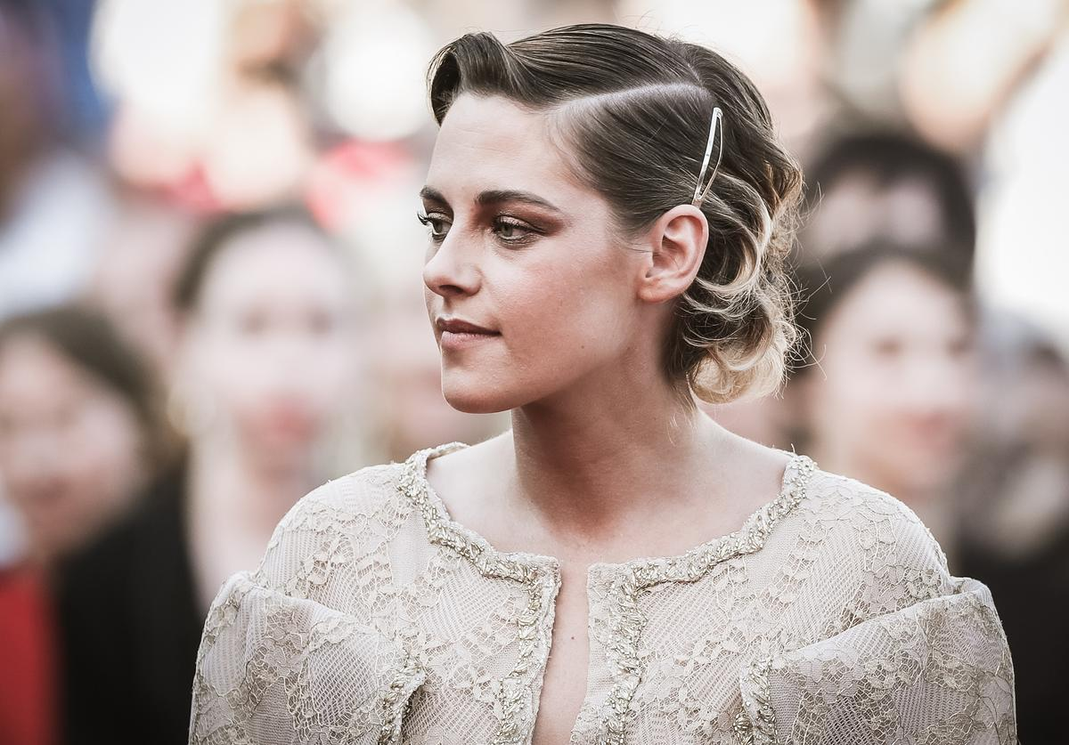 Image has been digitally retouched) Kristen Stewart attends the Closing Ceremony & screening of 'The Man Who Killed Don Quixote' during the 71st annual Cannes Film Festival at Palais des Festivals on May 19, 2018 in Cannes, France.