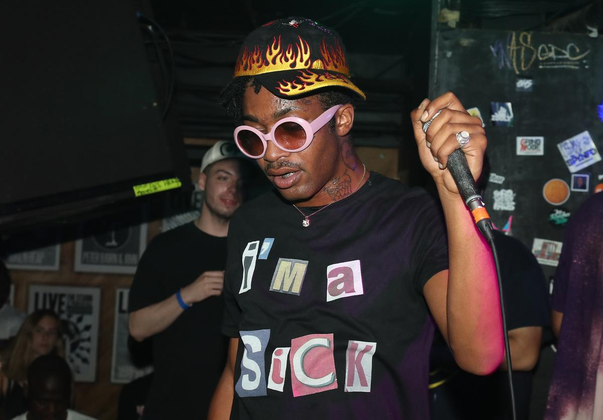 Lil Tracy performs in Concert at Webster Hall on July 8, 2017 in New York City