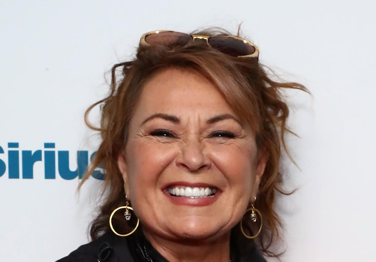 Actress and comedian Roseanne Barr poses for photos during SiriusXM's Town Hall with the cast of Roseanne on March 27, 2018 in New York City. (