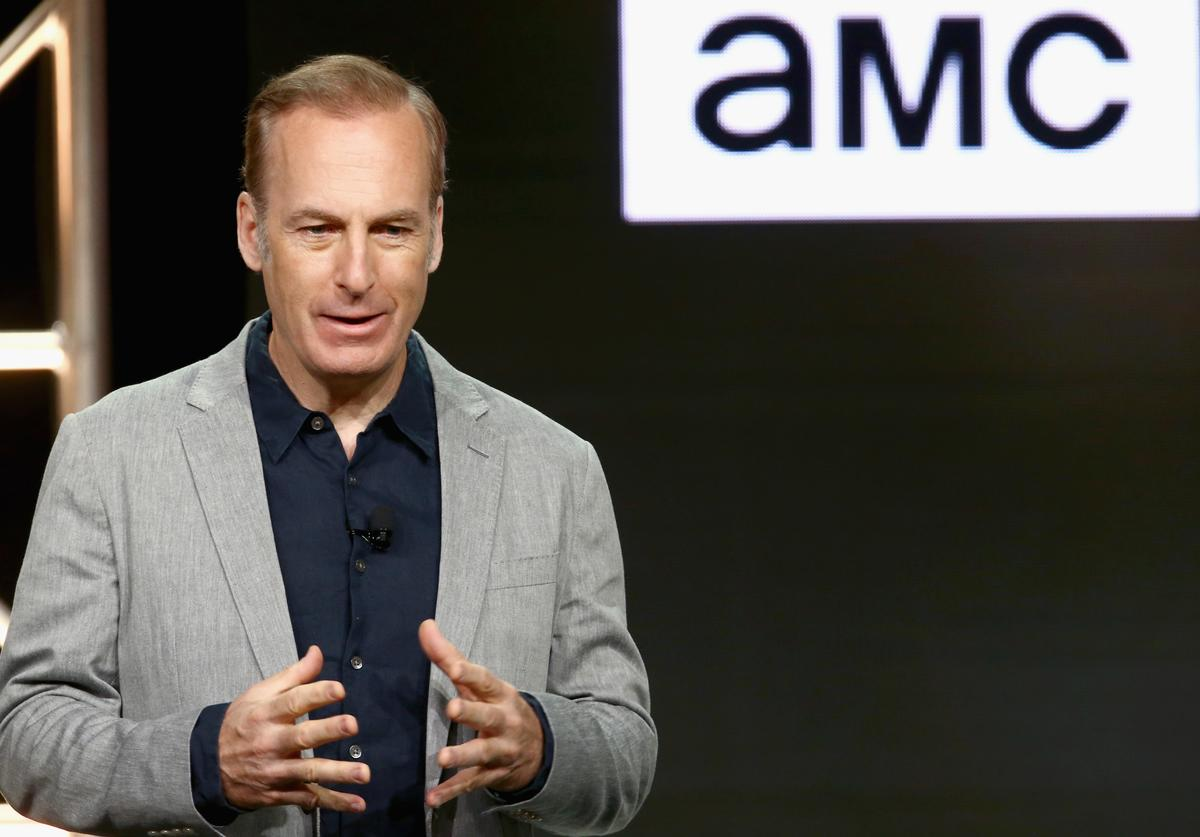 Bob Odenkirk of 'Better Call Saul' onstage during the AMC Networks portion of the Summer 2018 TCA Press Tour at The Beverly Hilton Hotel on July 28, 2018 in Los Angeles, California