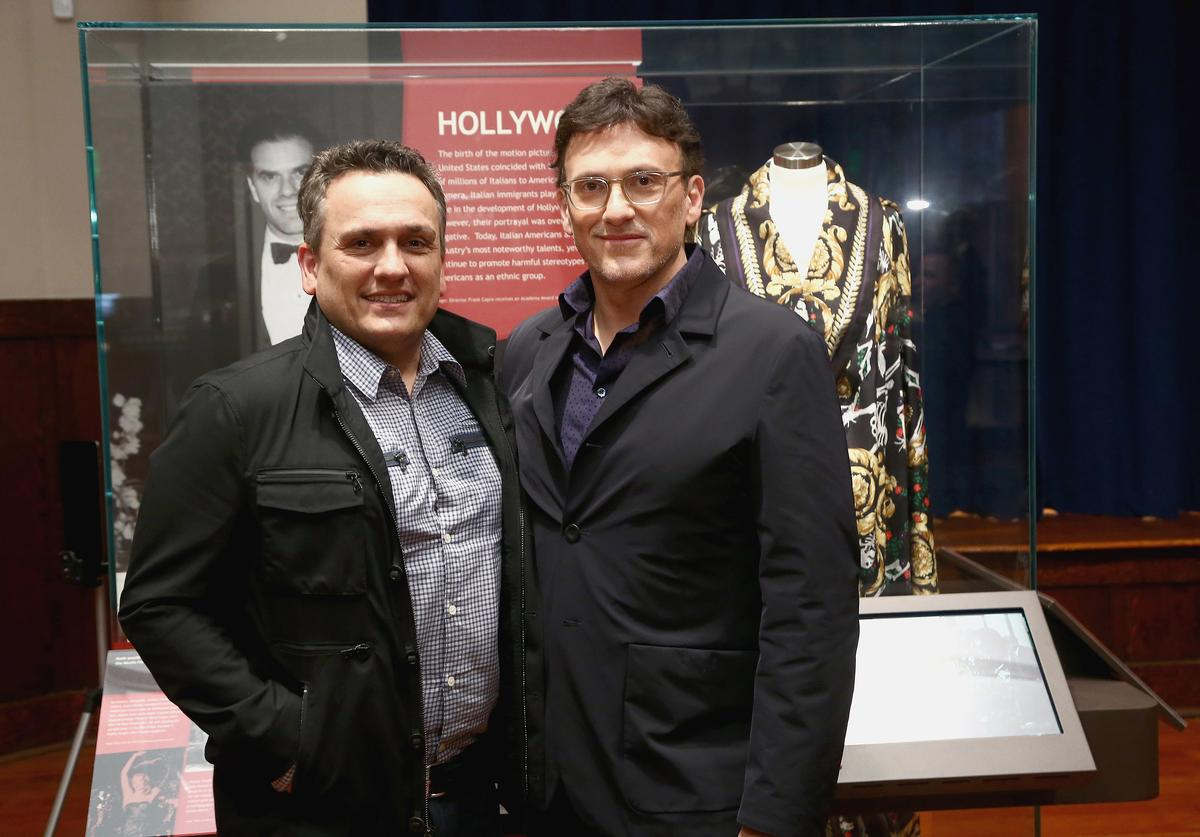Joe Russo and Anthony Russo attend the Italian American Museum Of Los Angeles Unveils Exhibition Honoring The Russo Brothers at Italian American Museum of Los Angeles on May 31, 2018 in Los Angeles, California