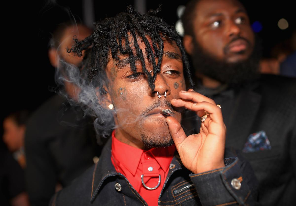 Lil Uzi Vert attends the 2017 MTV Video Music Awards at The Forum on August 27, 2017 in Inglewood, California