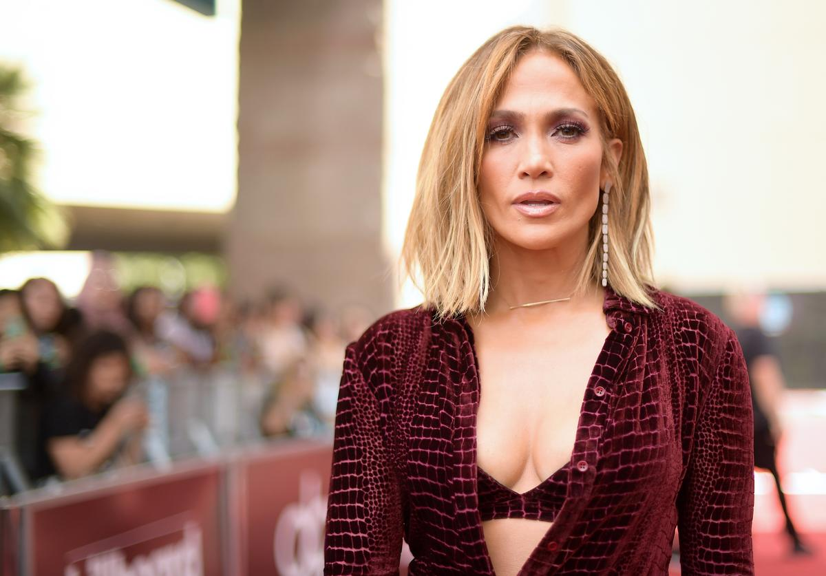 Jennifer Lopez attends the 2018 Billboard Music Awards at MGM Grand Garden Arena on May 20, 2018 in Las Vegas, Nevada