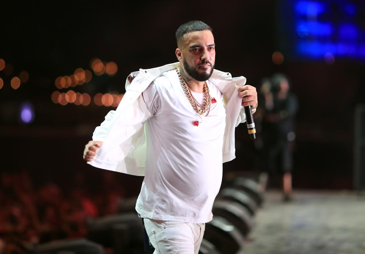 French Montana performs onstage during the 2018 Coachella Valley Music And Arts Festival at the Empire Polo Field on April 22, 2018 in Indio, California.