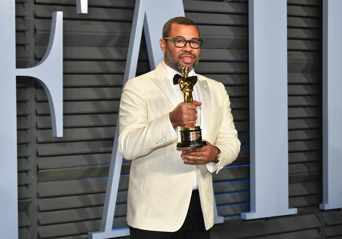 Jordan Peele attends the 2018 Vanity Fair Oscar Party hosted by Radhika Jones at Wallis Annenberg Center for the Performing Arts on March 4, 2018 in Beverly Hills, California.