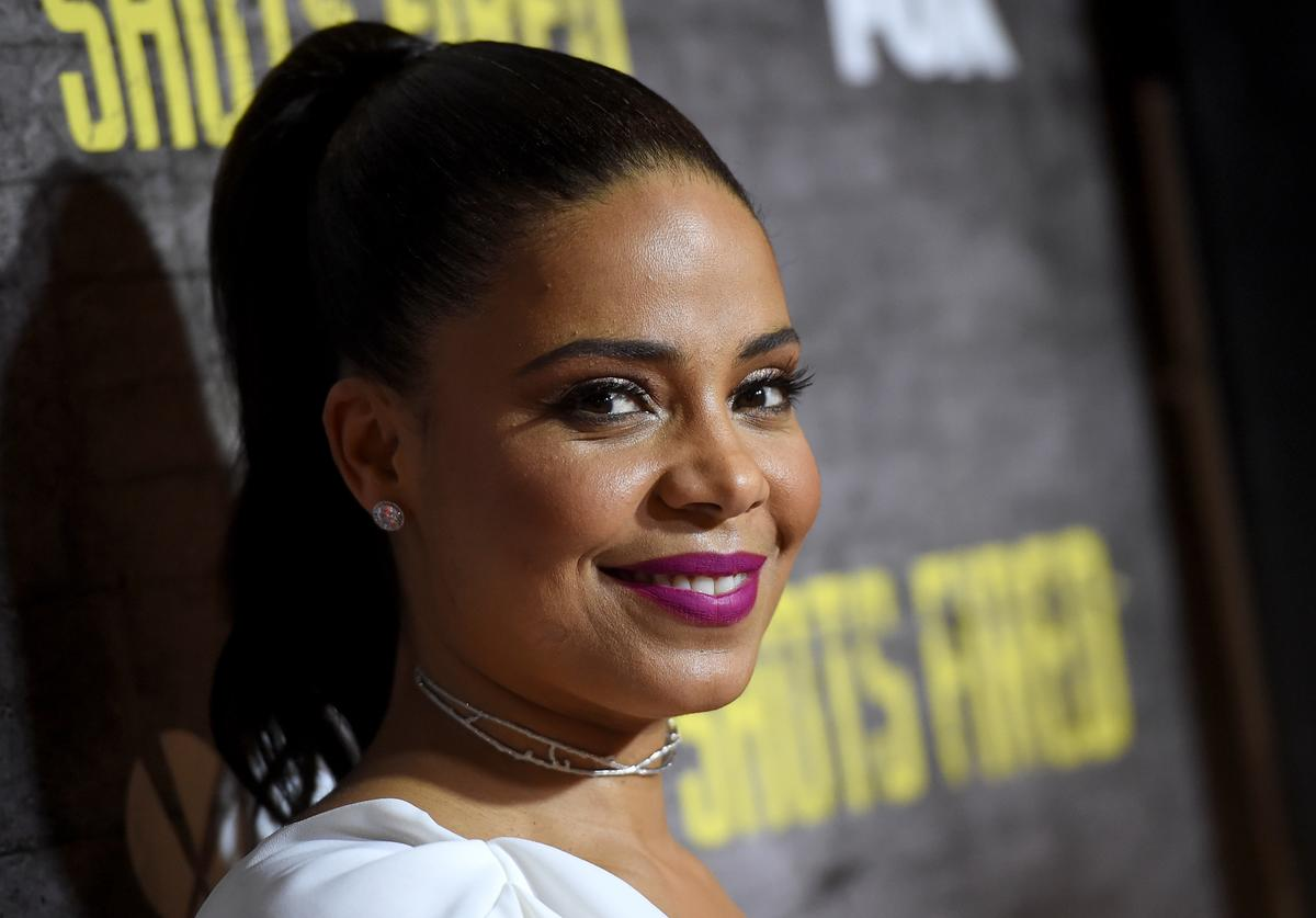 Actress Sanaa Lathan arrives at a screening and Q&A for FOX TV's 'Shots Fired' at the Pacific Design Center on March 16, 2017 in West Hollywood, California.