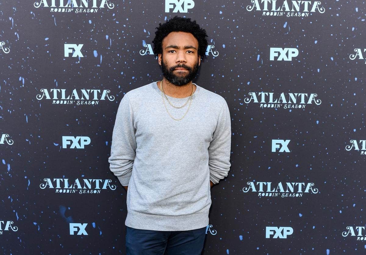 Donald Glover attends FX's 'Atlanta Robbin' Season' FYC Event at Saban Media Center on June 8, 2018 in North Hollywood, California.