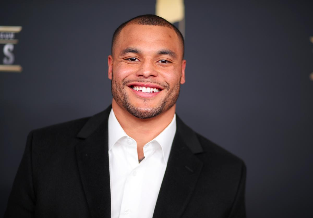 NFL Player Dak Prescott attends the NFL Honors at University of Minnesota on February 3, 2018 in Minneapolis, Minnesota.