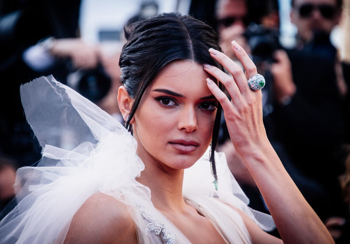 Model Kendall Jenner attends the screening of 'Girls Of The Sun (Les Filles Du Soleil)' during the 71st annual Cannes Film Festival at on May 12, 2018 in Cannes, France.