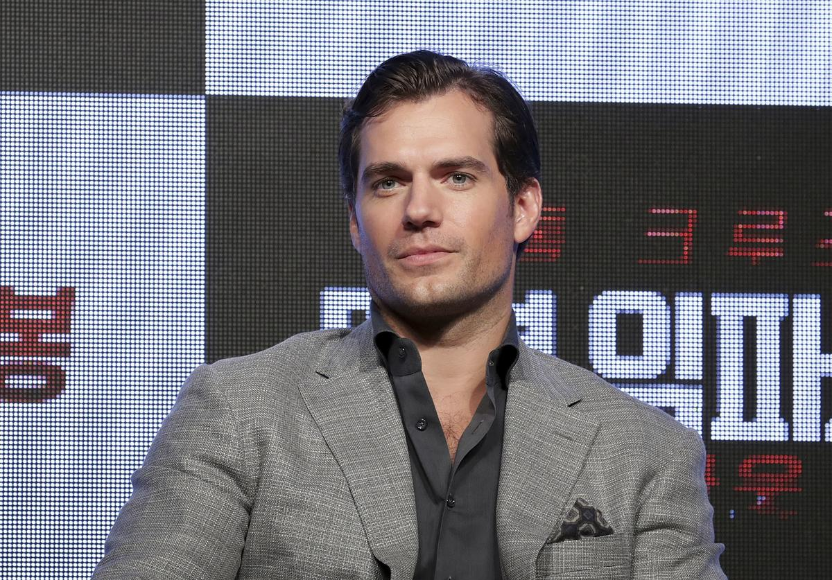 Henry Cavill attends the 'Mission: Impossible - Fallout' Korea Press Conference and Photo Call at Lotte Hotel Seoul on July 16, 2018 in Seoul, South Korea.