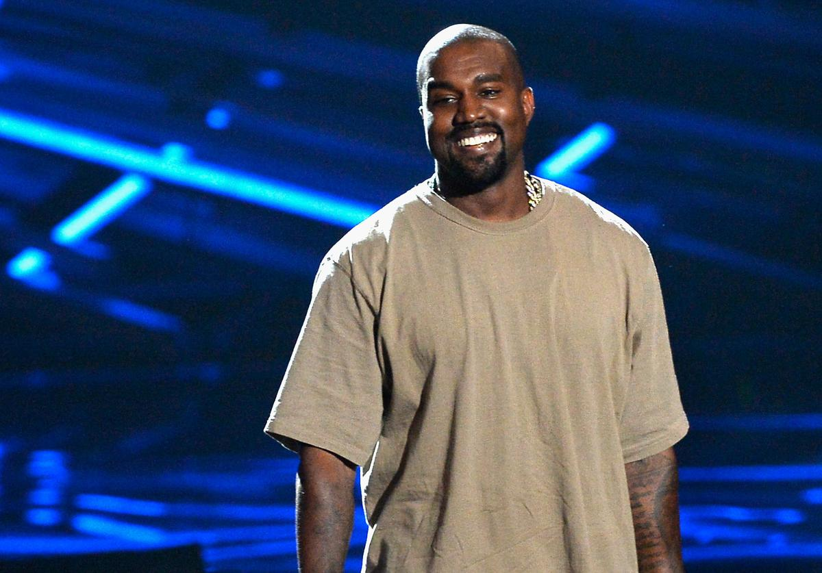 Vanguard Award winner Kanye West speaks onstage during the 2015 MTV Video Music Awards at Microsoft Theater on August 30, 2015 in Los Angeles, California