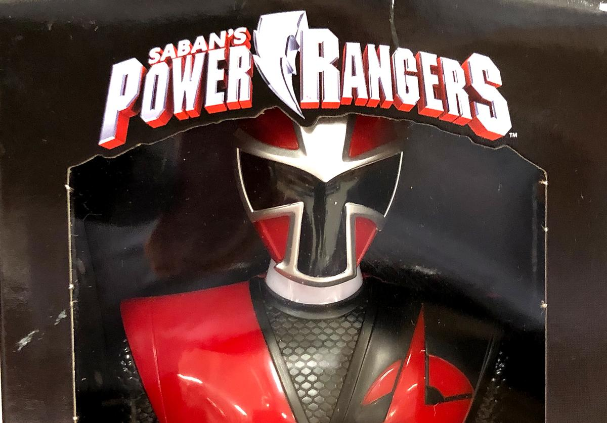 A Power Rangers toy is displayed at a Target store on July 23, 2018 in San Rafael, California. Hasbro Inc. reported better than expected second-quarter revenue of $904.5 million compared to $972.5 million in the previous year. Despite the loss, revenues were well above analyst expectations sending stocks higher.