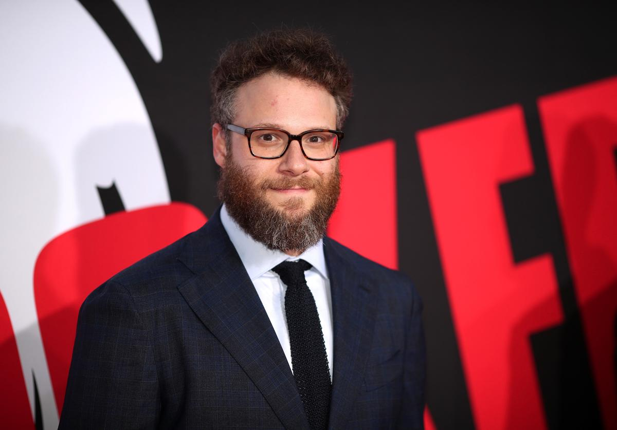 Seth Rogen attends the premiere of Universal Pictures' 'Blockers' at Regency Village Theatre on April 3, 2018 in Westwood, California.