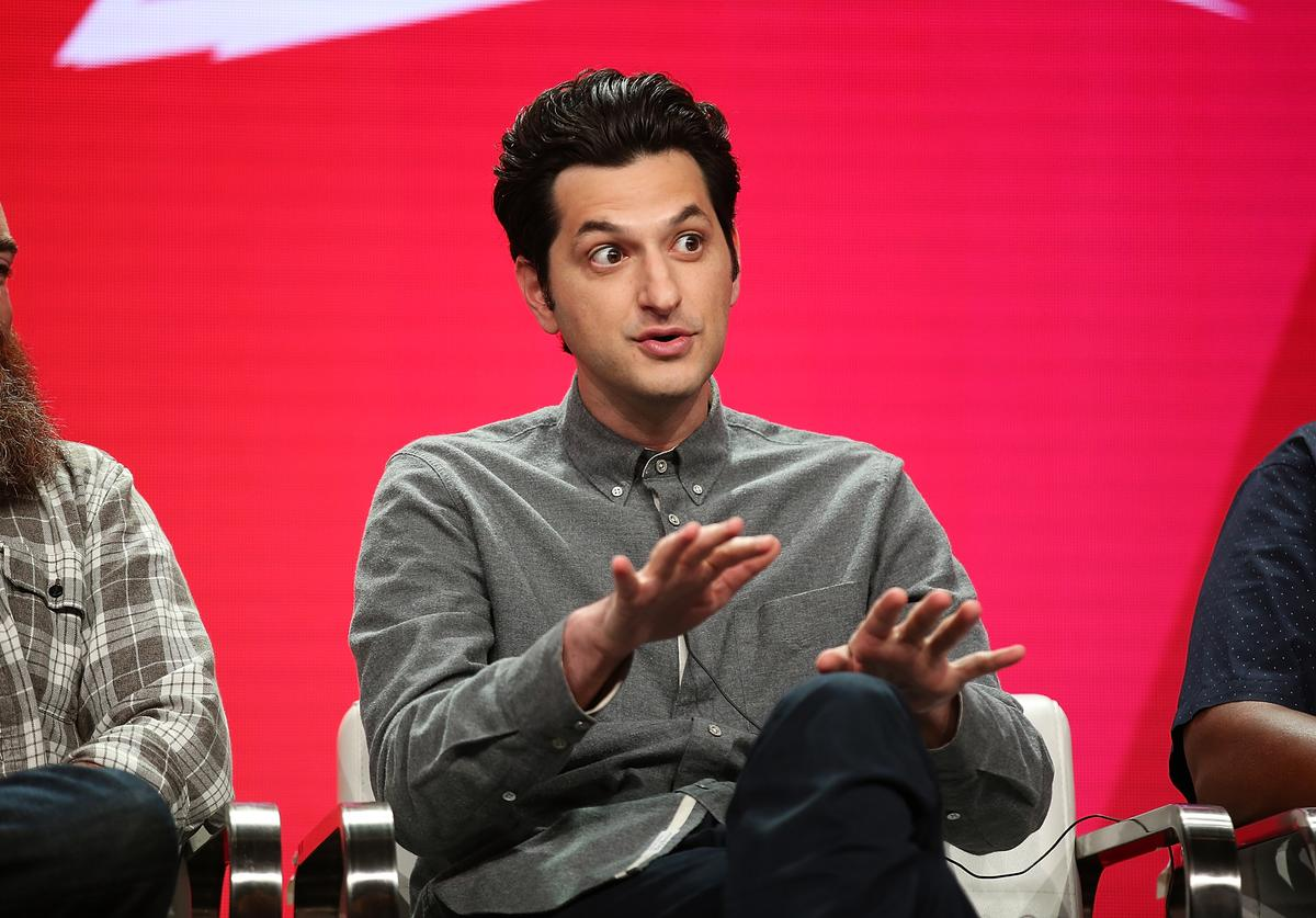 Ben Schwartz of the television show 'Rise of the Teenage Mutant Ninja Turtle' speaks during the Viacom segment of the Summer 2018 Television Critics Association Press Tour at the Beverly Hilton Hotel on July 27, 2018 in Beverly Hills, California.