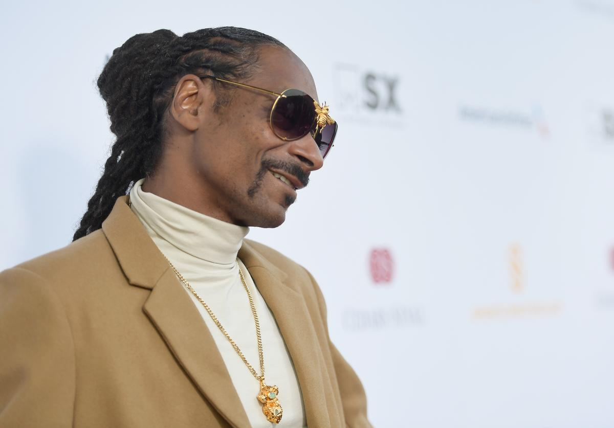 Snoop Dogg attends the 33rd Annual Cedars-Sinai Sports Spectacular at The Compound on July 15, 2018 in Inglewood, California.